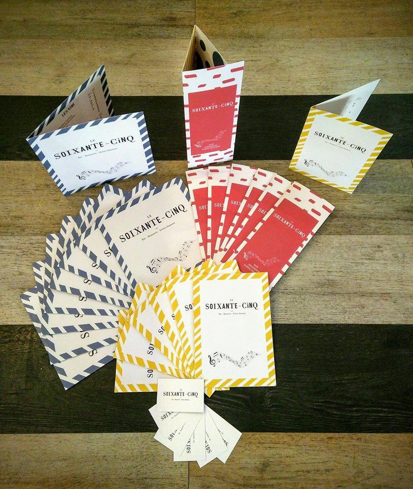 Visuel carte et menu